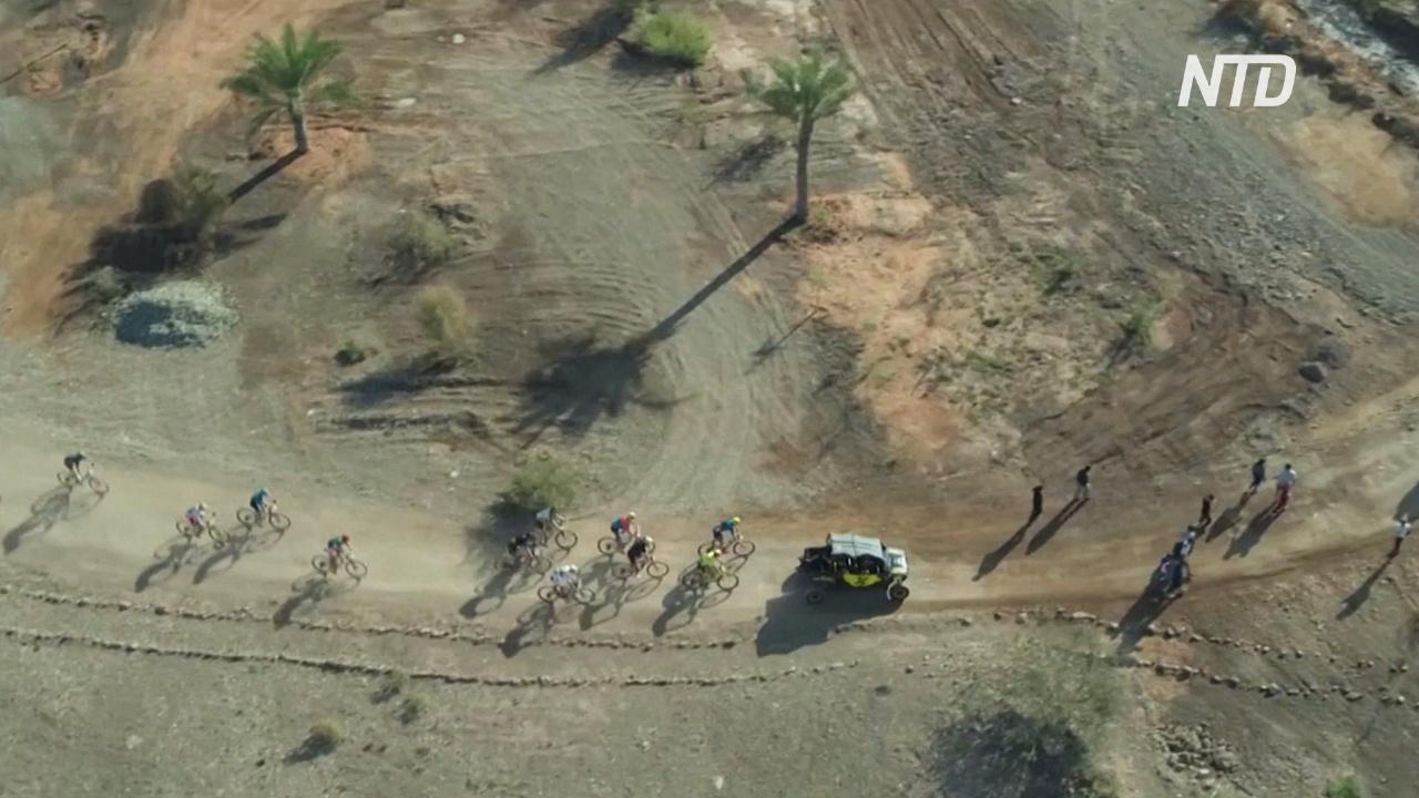 В ОАЭ прошёл первый этап гонок на горных велосипедах HERO World Series