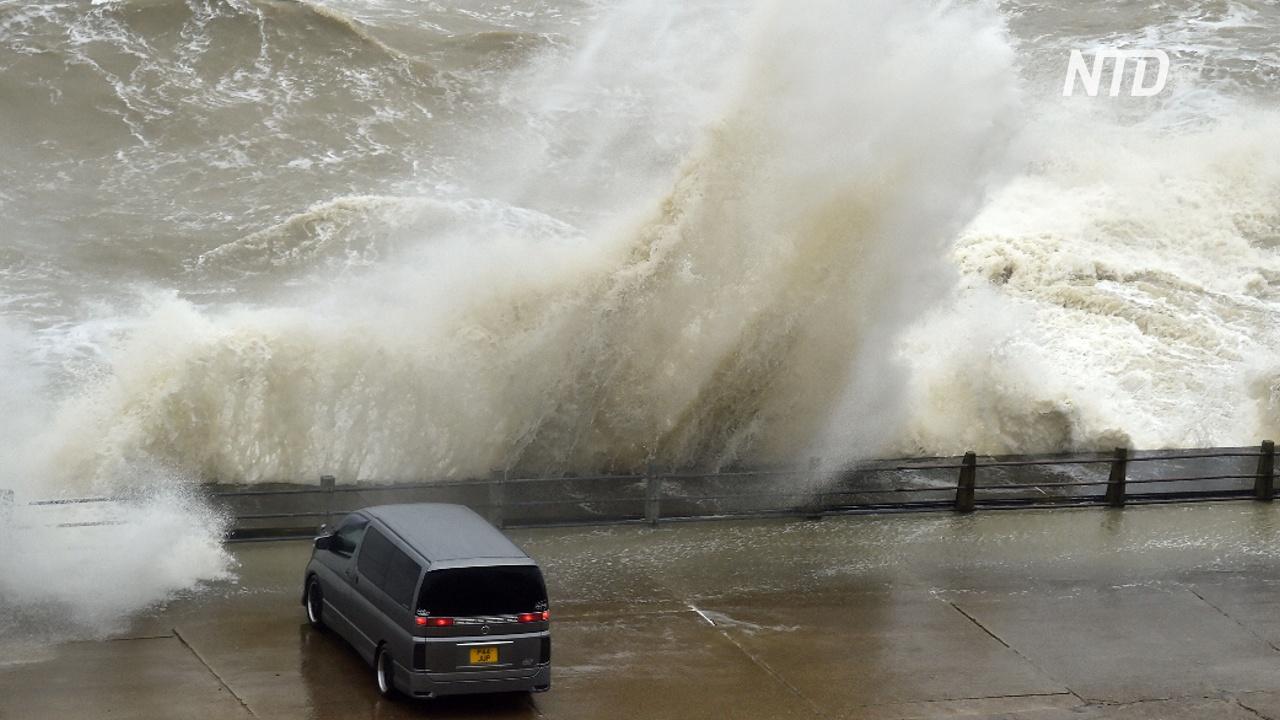 На Великобританию обрушился шторм «Сиара»
