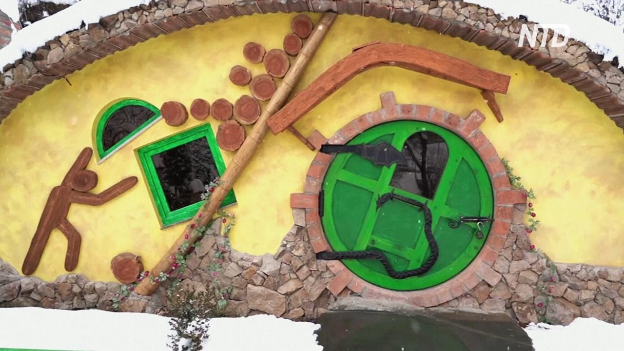 Пожить в Средиземье: отель в виде домиков хоббитов работает в Армении
