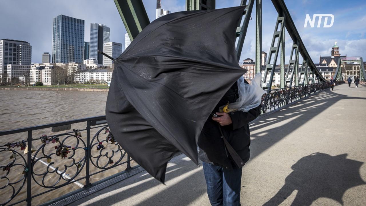 Шторм «Сабина» ударил по Европе: в Польше погибли три туриста