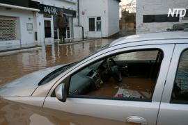 В Великобритании – рекордные наводнения после шторма «Деннис»