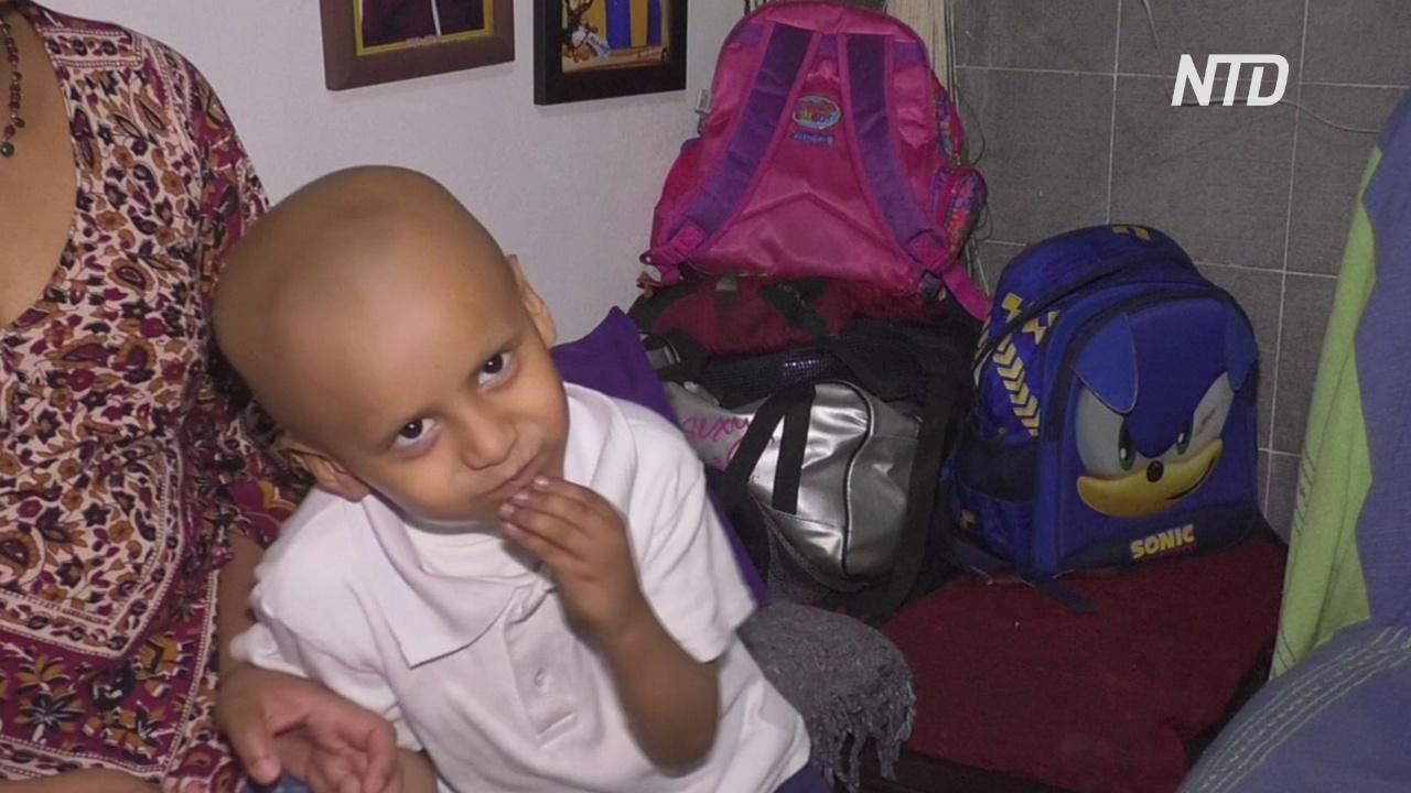 Мексиканским детям, больным раком, не хватает лекарств из-за политики властей