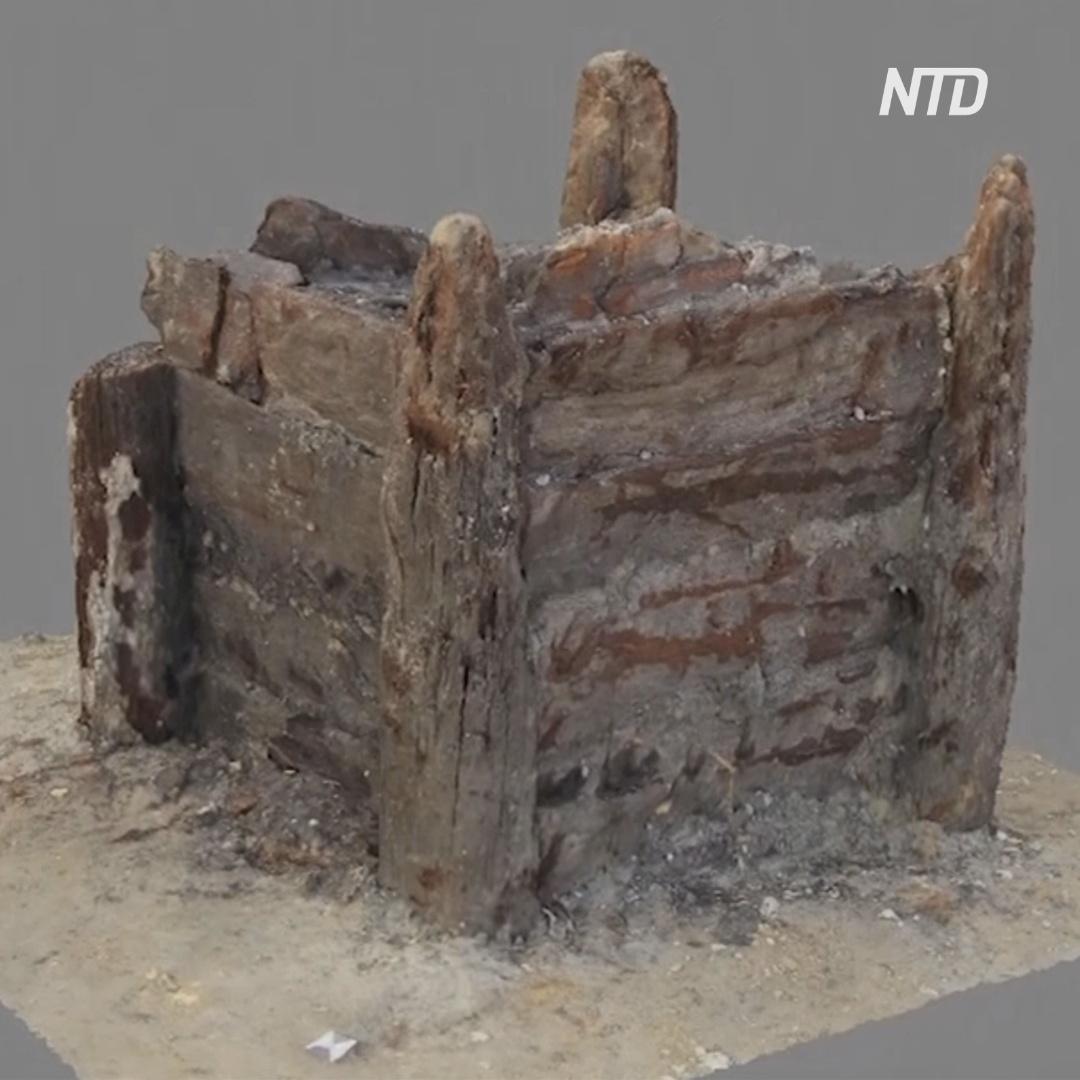 В Чехии откопали древнейшее деревянное сооружение людей