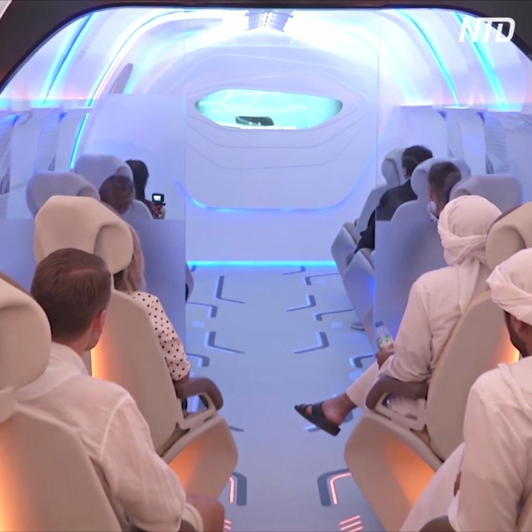 В капсуле вакуумного поезда Hyperloop уже можно посидеть