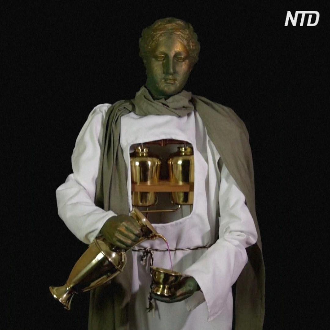 Компьютеры, часы, роботы и другие изобретения Древней Греции
