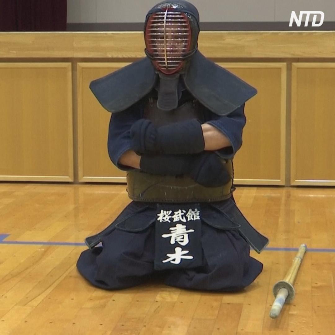70-летний мастер кэндо станет факелоносцем на Олимпиаде в Японии
