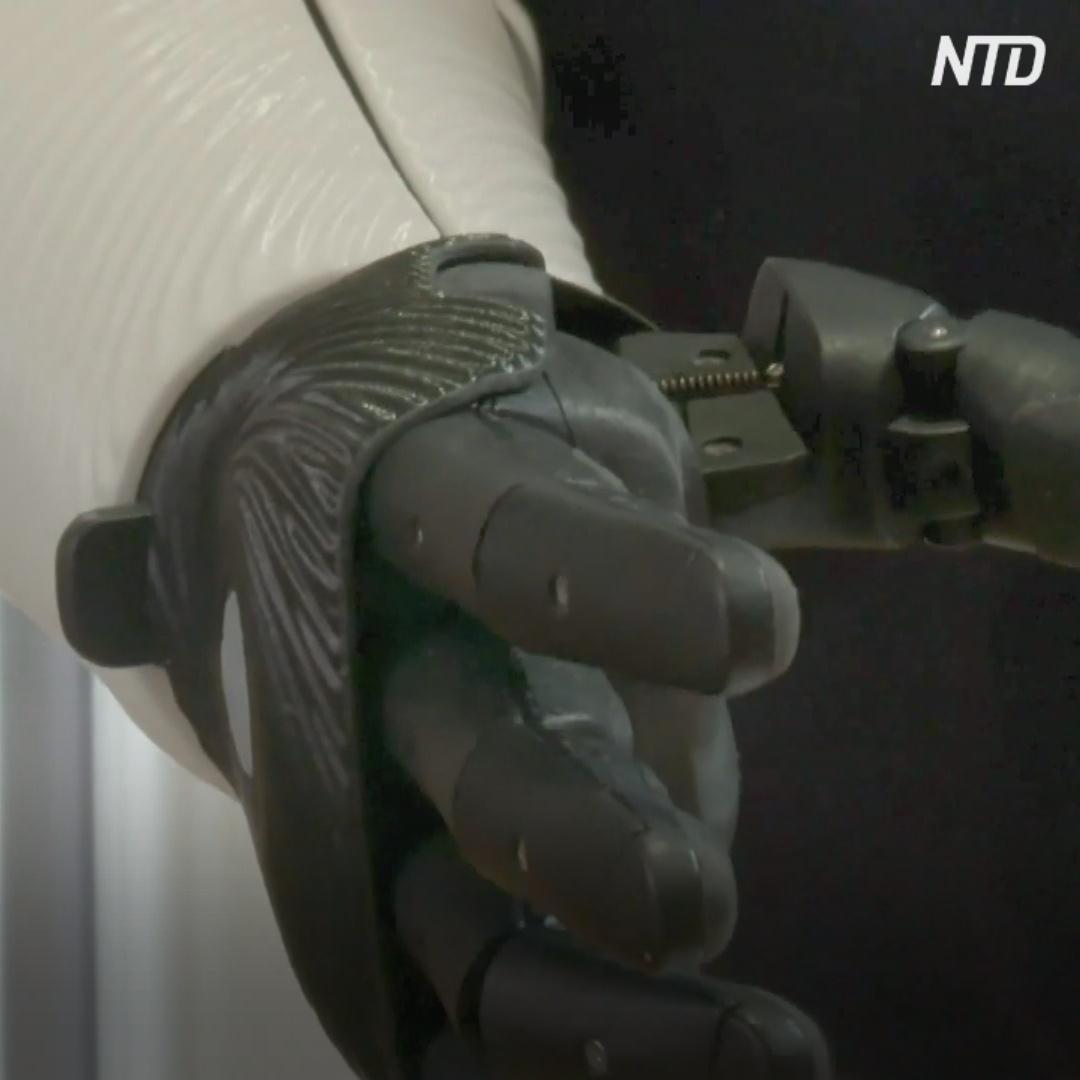 Бионическую руку для десантника впервые оплатило британское правительство