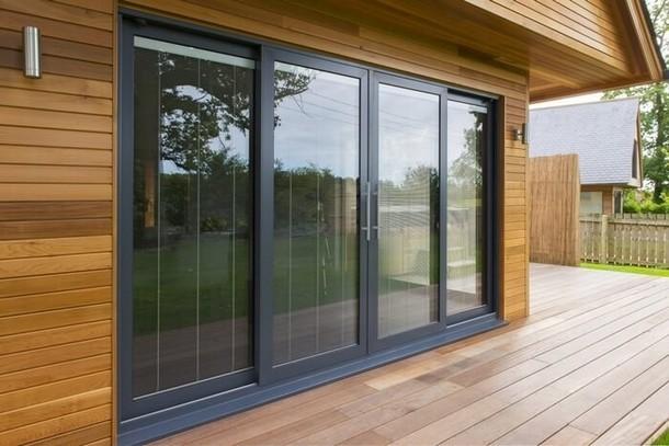 Раздвижные окна - алюминиевые и пластиковые