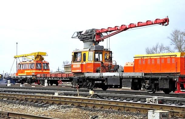 Смена железнодорожных рельсов