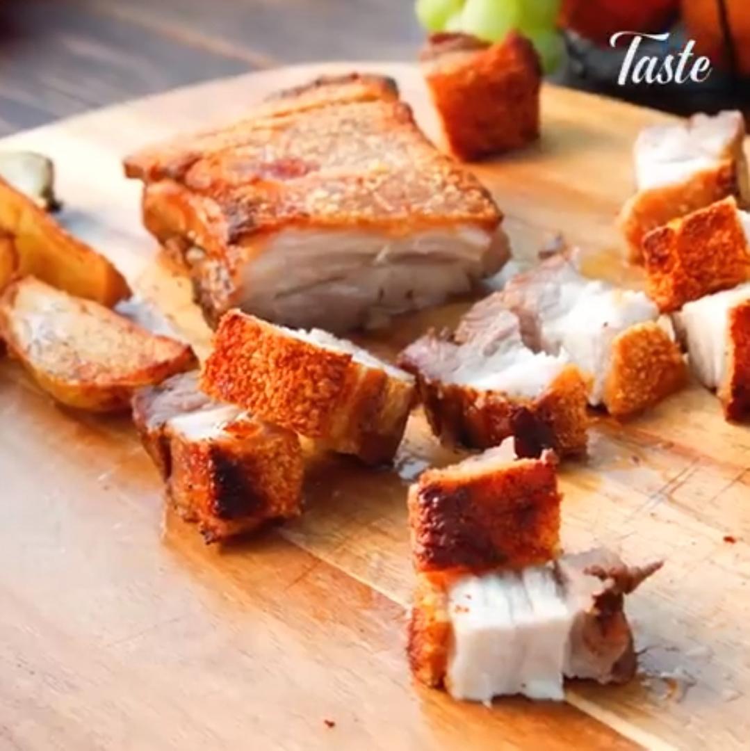 Свинина барбекю с хрустящей корочкой
