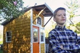 Как подросток построил дом