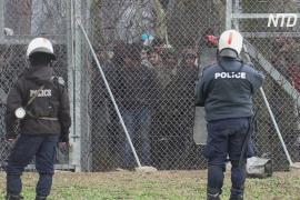 Греция заявила о серьёзной угрозе из-за мигрантов, устремившихся из Турции