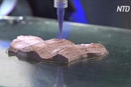 Растительное «мясо» с волокнами решили печатать на 3D-принтере