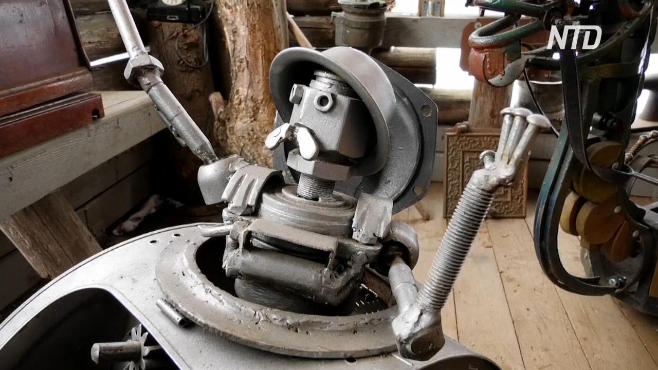 Подмосковный музей «Железное царство» удивляет двигающимися скульптурами