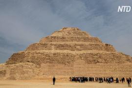 После 14 лет реставрации в Египте открыли пирамиду Джосера