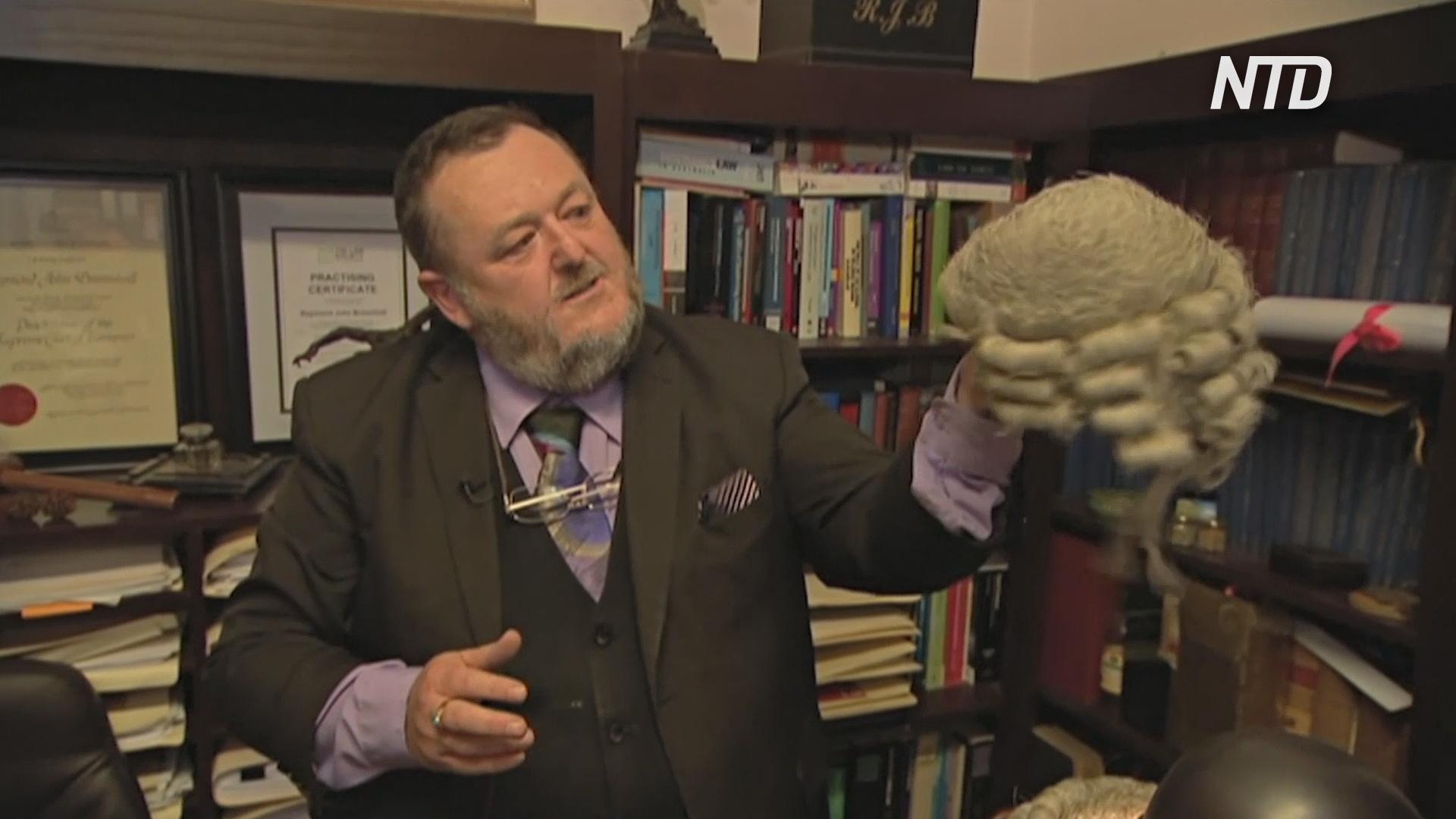 Коллекция с историей: австралиец собирает парики знаменитых юристов