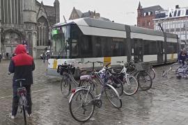 Запрет на автомобили преобразил центр города Гент