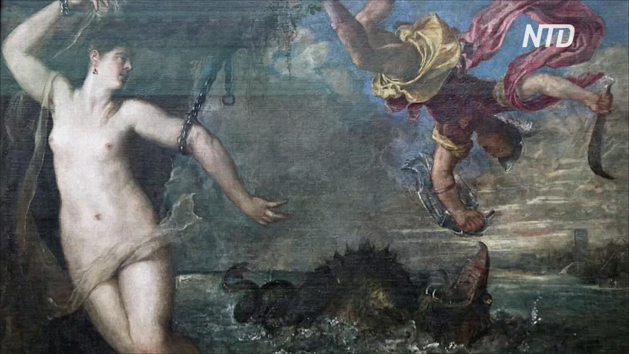 Шесть шедевров Тициана объединились впервые за 400 лет на выставке в Лондоне