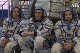 Экипаж МКС-63 готов к полёту на орбитальную станцию