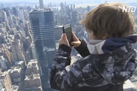 Высочайшая обзорная площадка в Западном полушарии открылась в Нью-Йорке