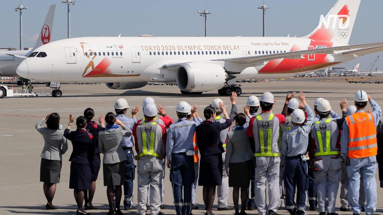 Япония отправила в Грецию самолёт за олимпийским факелом