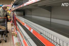В российских супермаркетах на фоне вспышки коронавируса раскупают гречку