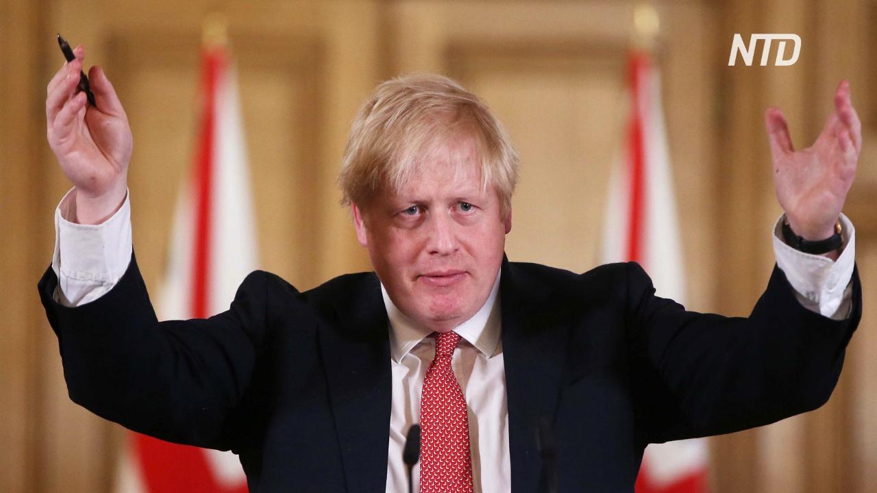 Борис Джонсон призвал британцев держать дистанцию в два метра