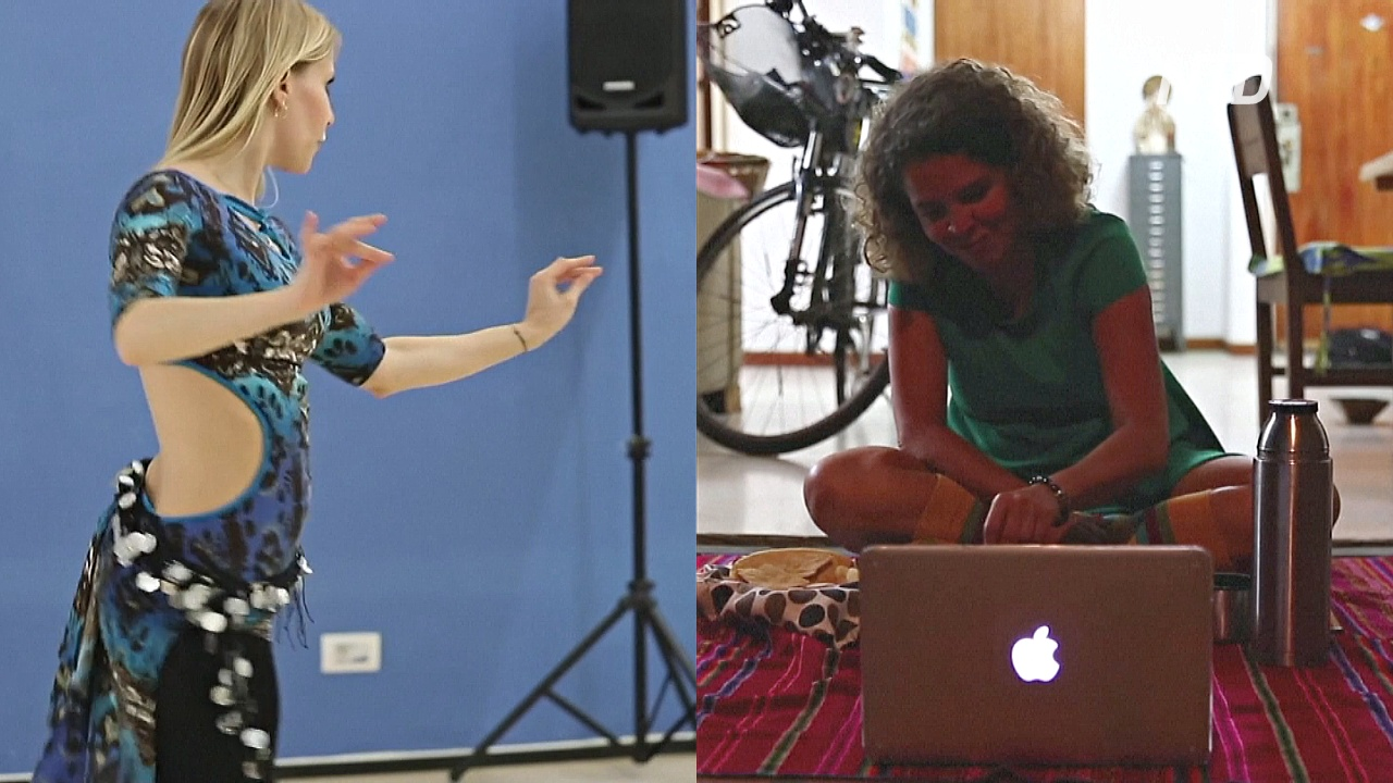 От танцев до пикников: развлечения во время карантина переходят в сеть