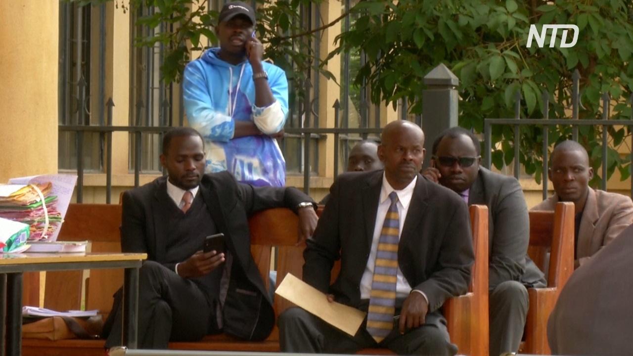 В Кении судебные заседания из залов перенесли на улицы