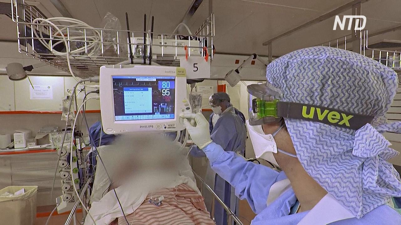 Франция стала пятой страной, где умерших от коронавируса больше 1000
