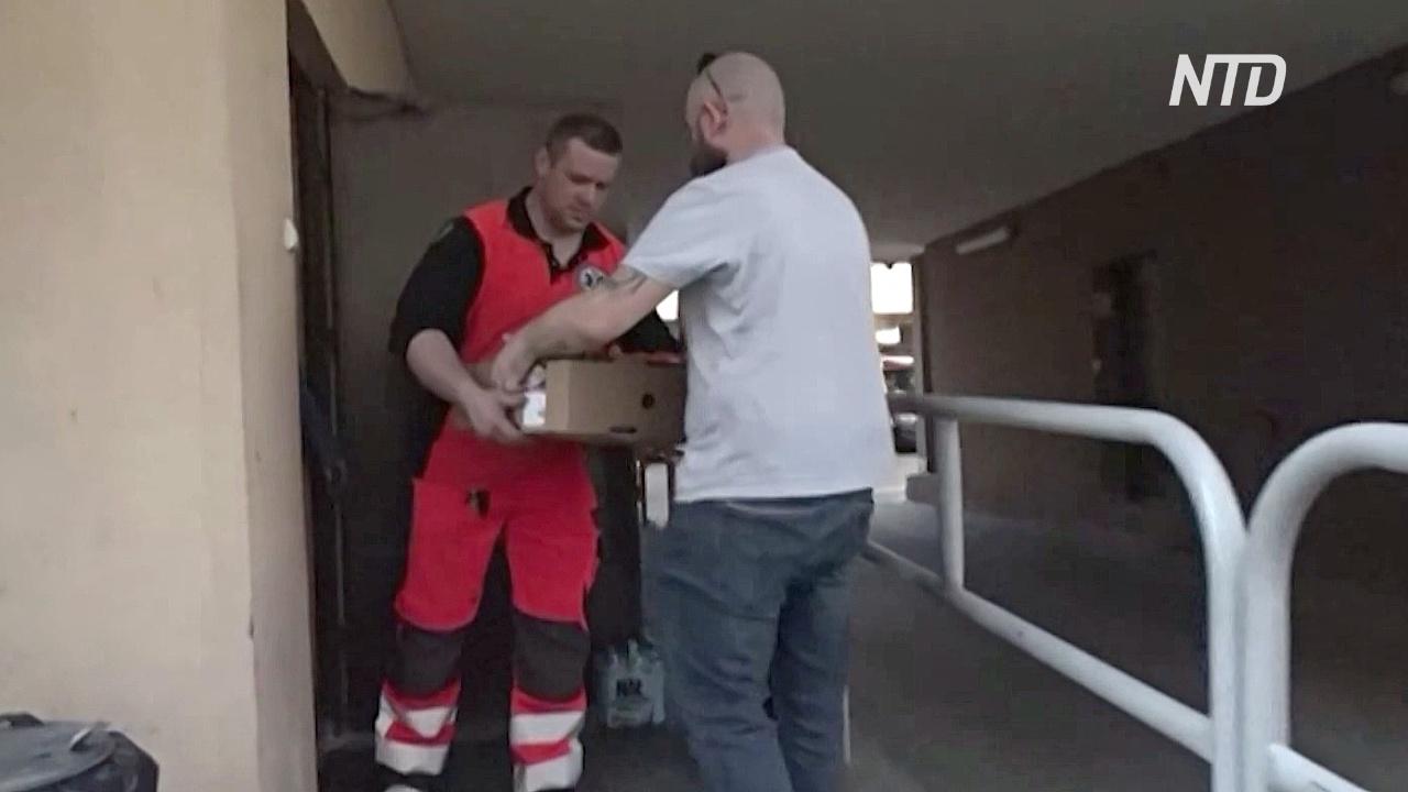 Польские волонтёры не бросают нуждающихся в условиях карантина