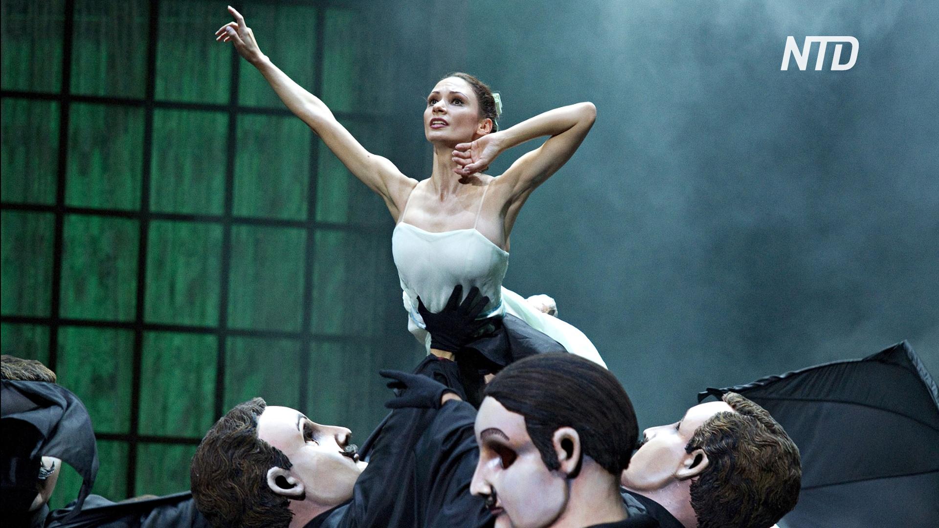 Русская прима-балерина даже в самоизоляции продолжает репетировать
