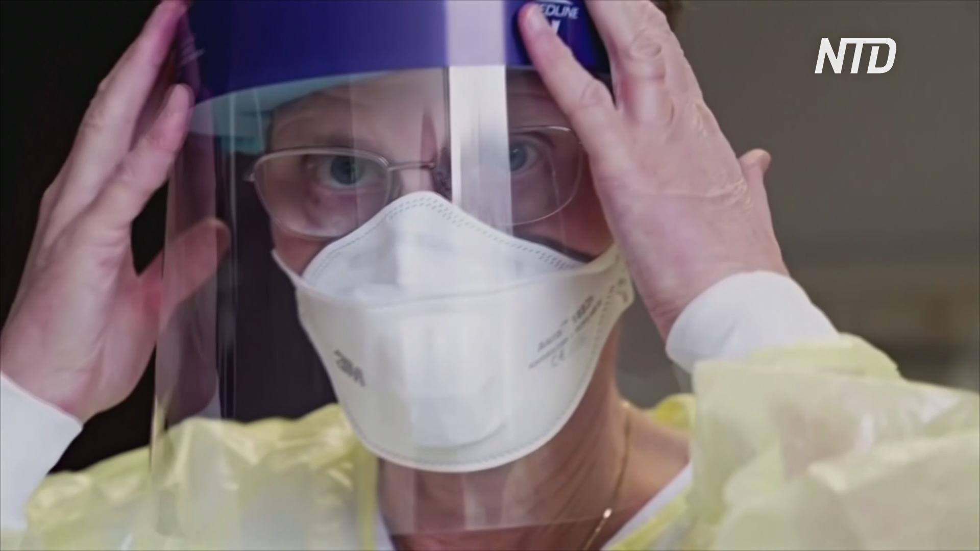 В Дании на 3D-принтерах делают бесплатные защитные козырьки для врачей