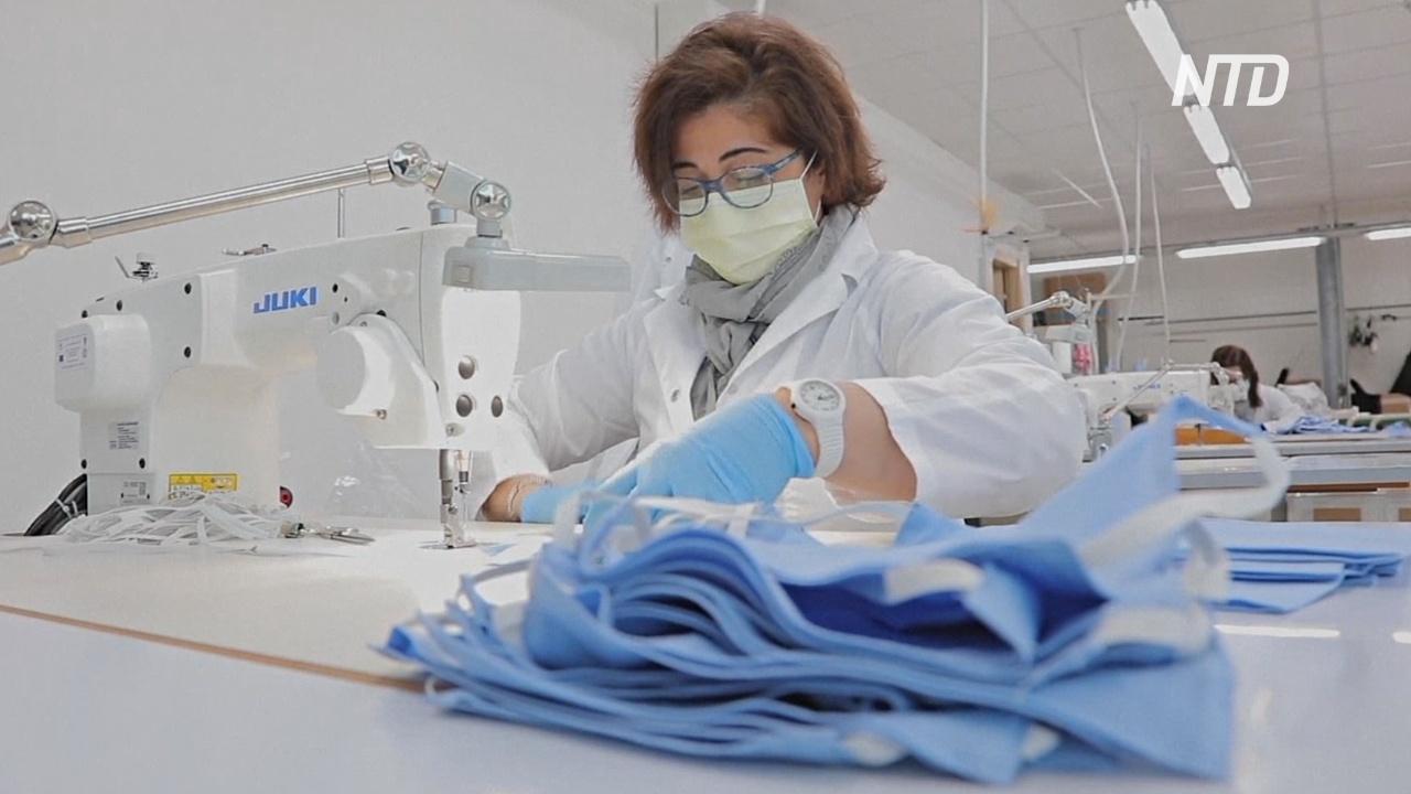 Вместо высокой моды – маски: как итальянская фабрика сменила профиль