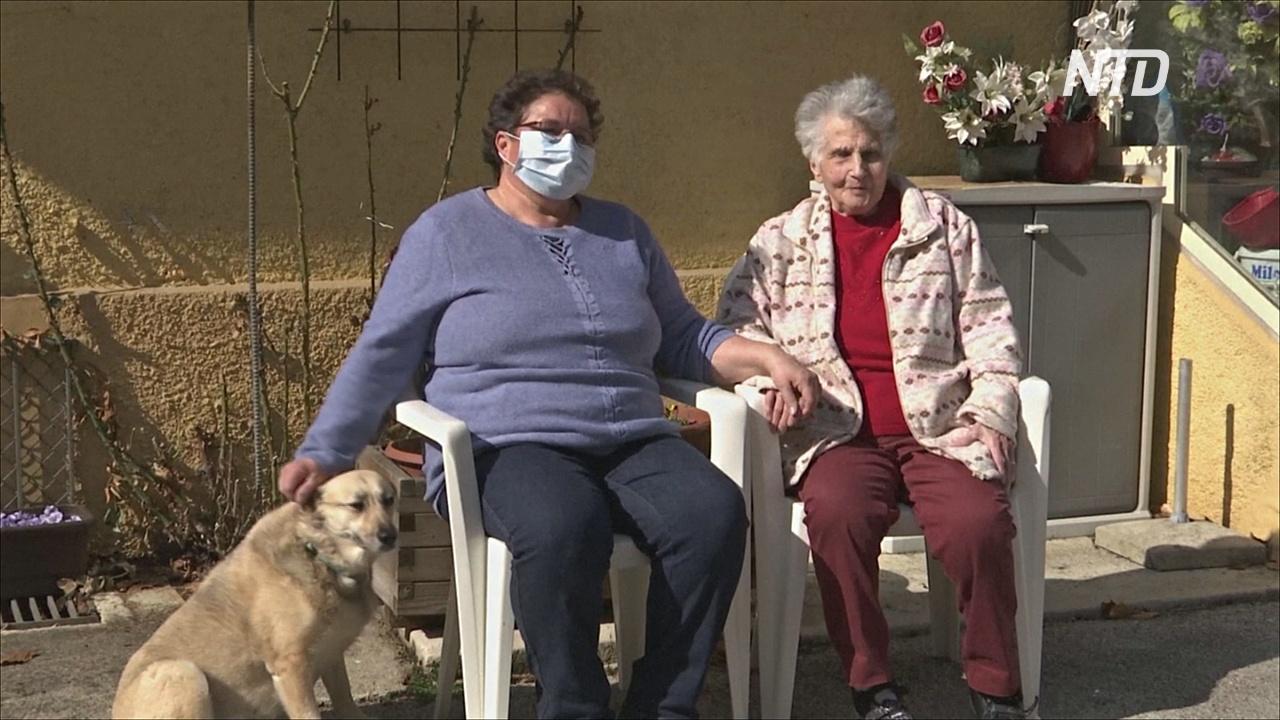 95-летняя пациентка, выздоровевшая от COVID-19: «Мне было не страшно»