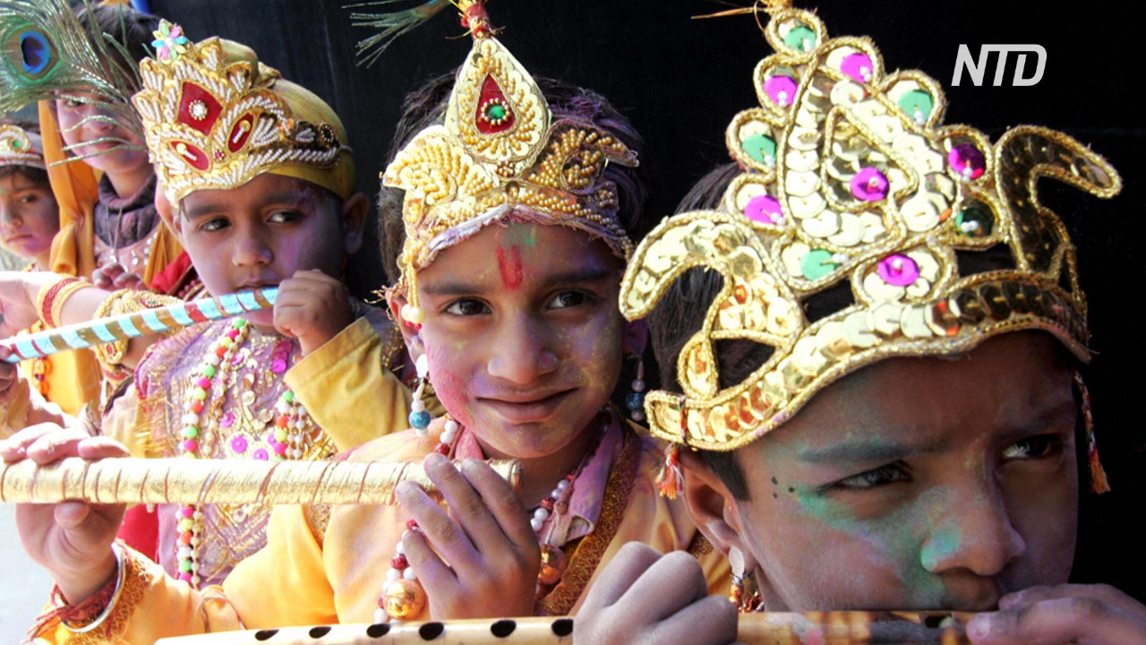 В индийском штате Гоа отмечают праздник весны Шигмотсав