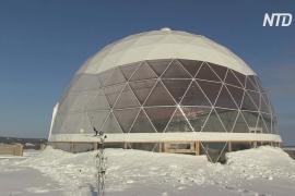 Переспорить природу: в Якутии выясняют, как живётся зимой в доме под куполом
