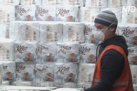 Российский комбинат обещает обеспечить туалетной бумагой всю страну