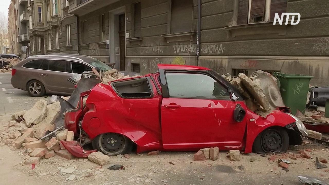Загреб оправляется от сильнейшего за 140 лет землетрясения