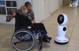 Роботы-гуманоиды помогают пожилым бельгийцам общаться с родными
