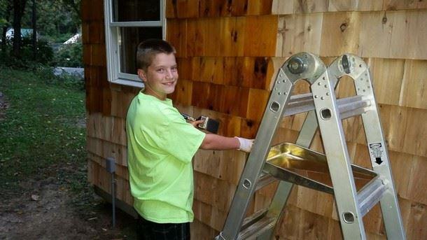 4 12 - Как подросток построил дом