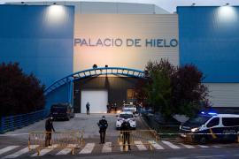 В Мадриде ледовый дворец переоборудовали в морг
