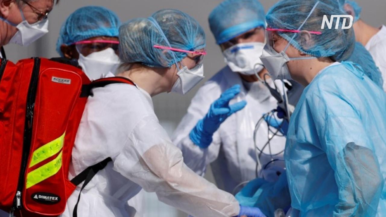Во Франции за сутки умерло 186 больных коронавирусом
