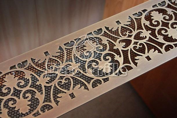 Латунная вентиляционная решетка Oak со старением