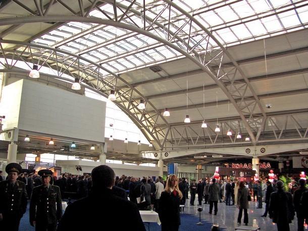 Международный терминал аэропорта Внуково, г. Москва