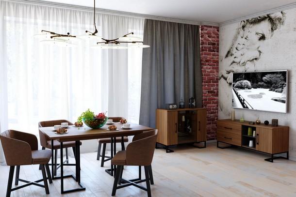 Модульная гостиная Лофт-1