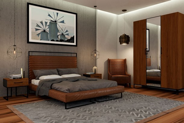 Модульная спальня Лофт - 4