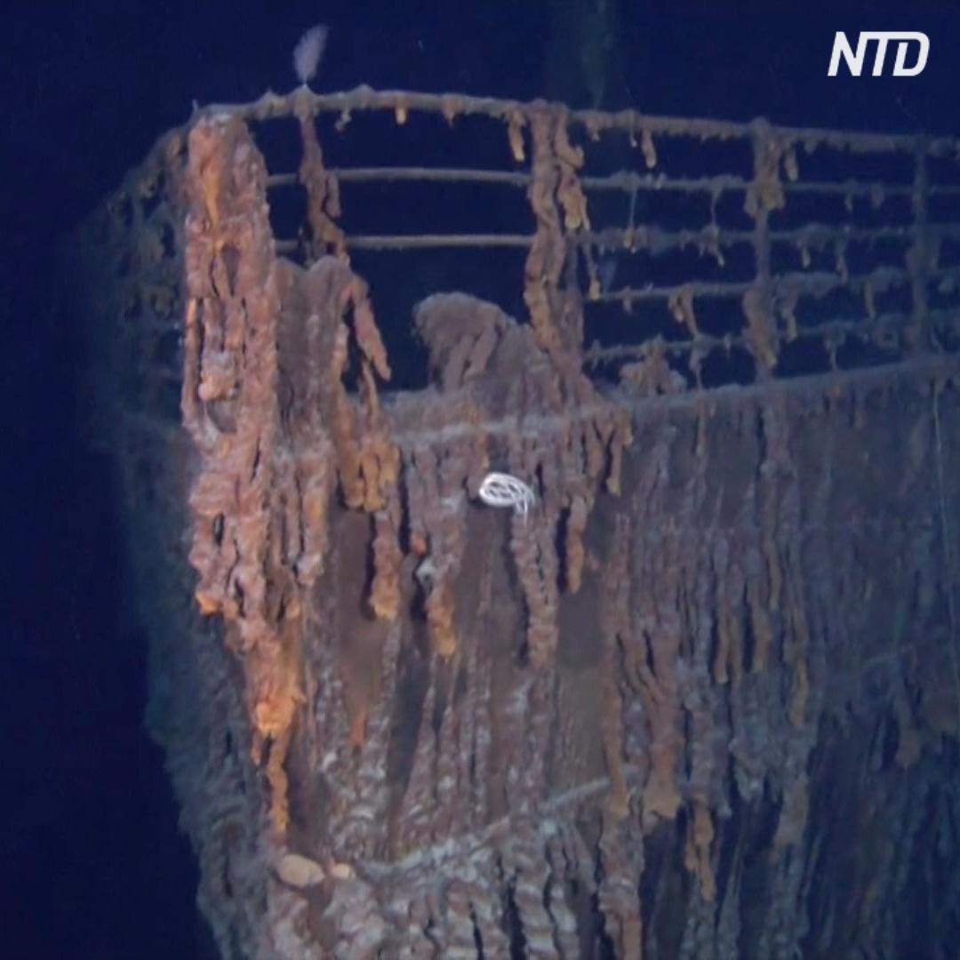 Фирма добивается разрешения поднять с «Титаника» радиотелеграф