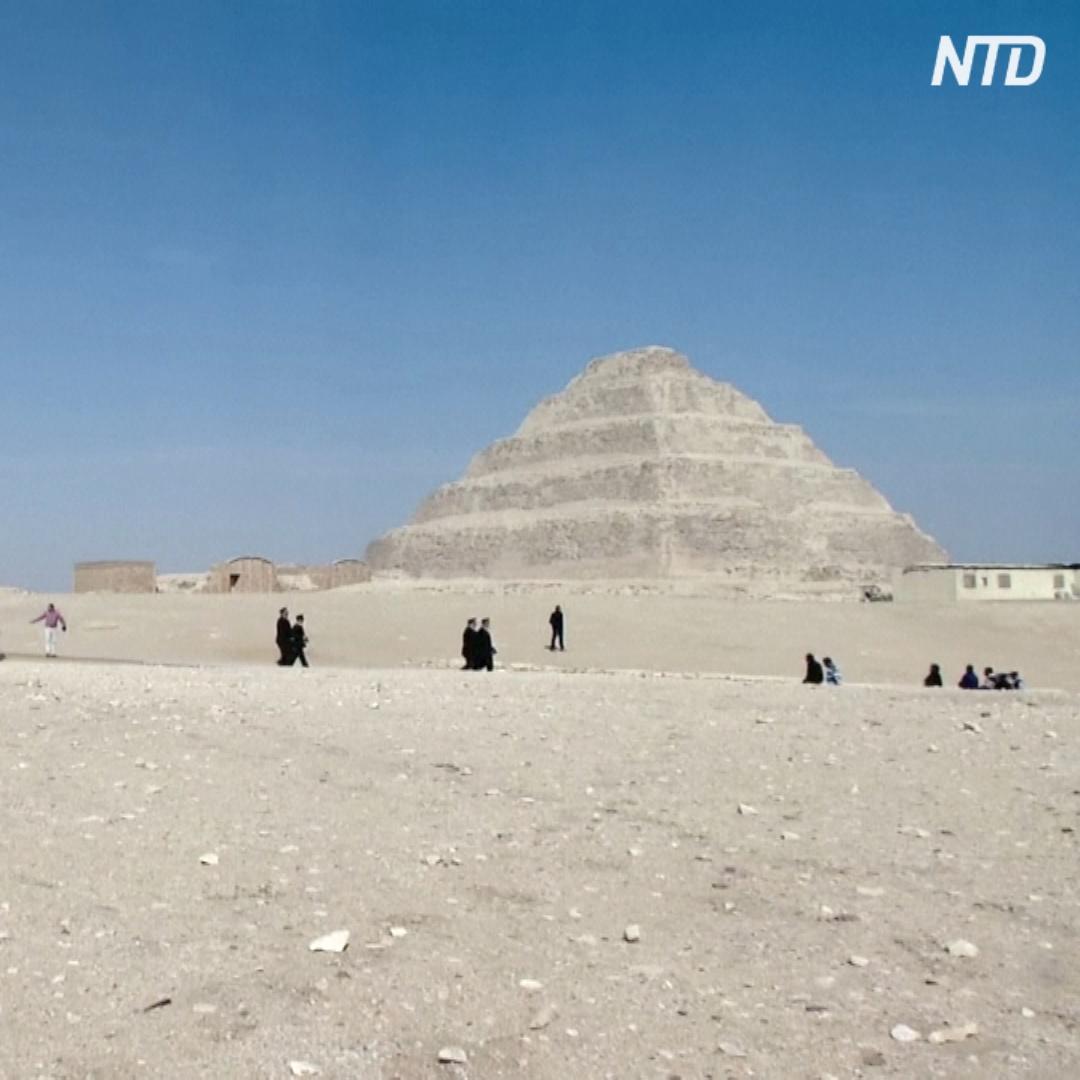 Пирамиду Джосера возрастом 4700 лет открыли после 14 лет реставрации