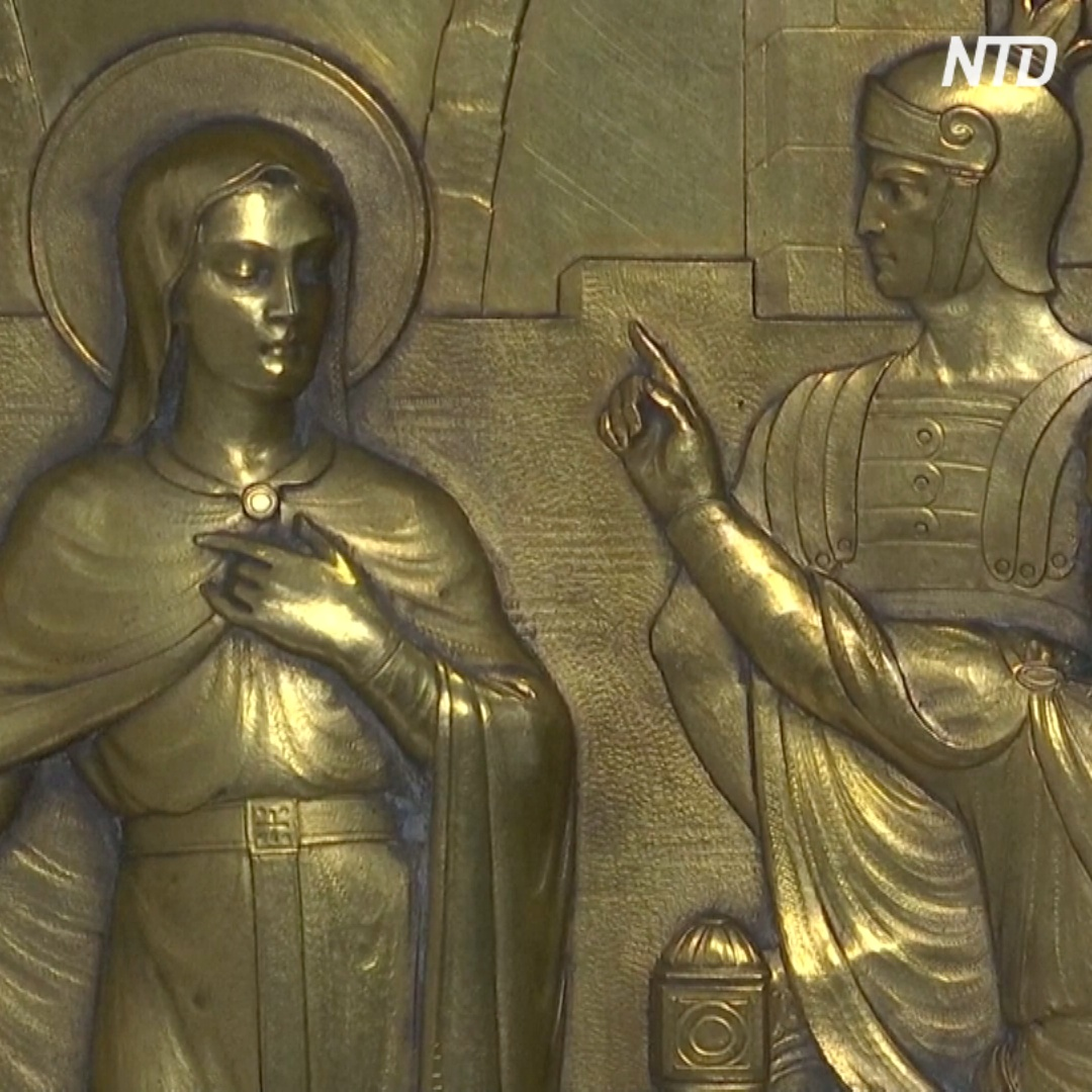 В Германии достали мощи святой Короны – покровительницы людей во времена эпидемий